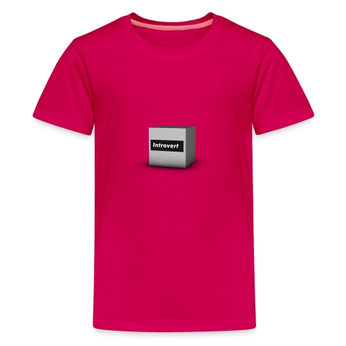 Box Logo - Kids' Premium T-Shirt