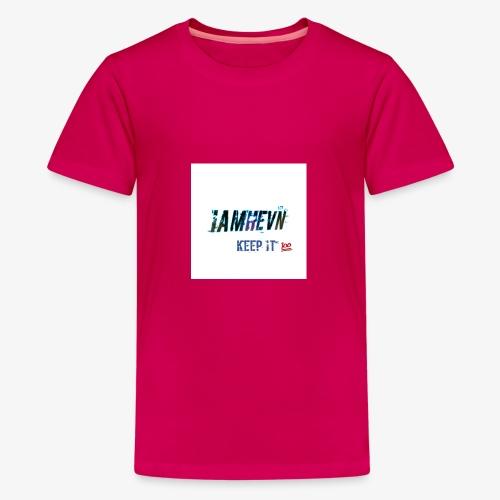 Iamhevn keep it 100 - Kids' Premium T-Shirt
