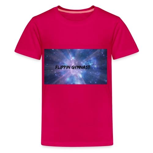 Flippin Gymnast - Kids' Premium T-Shirt