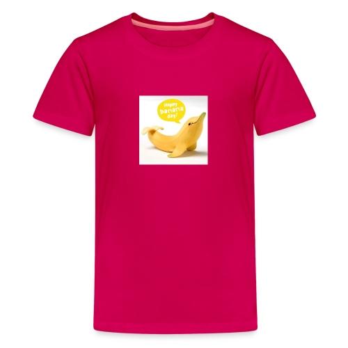 Banana dolphin - Kids' Premium T-Shirt