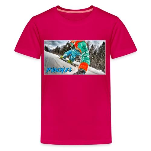 Bukovel Snowboarding - Kids' Premium T-Shirt