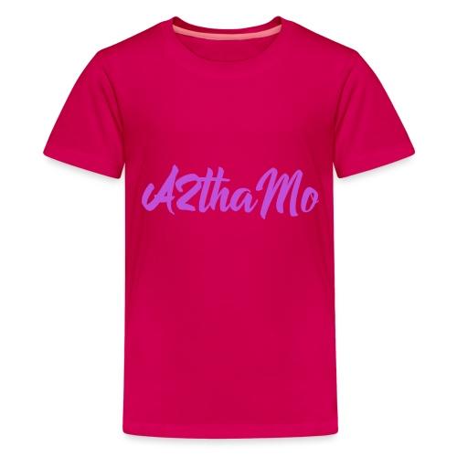 A2thaMo Logo Purple - Kids' Premium T-Shirt