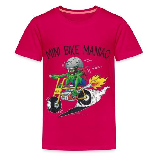 Original Mini Bike Maniac black letters - Kids' Premium T-Shirt
