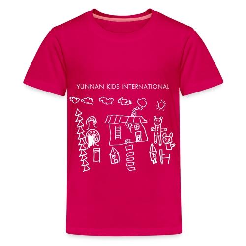 Sunshine white - Kids' Premium T-Shirt
