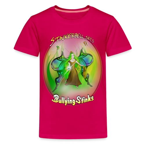 stinkerbell2 png - Kids' Premium T-Shirt