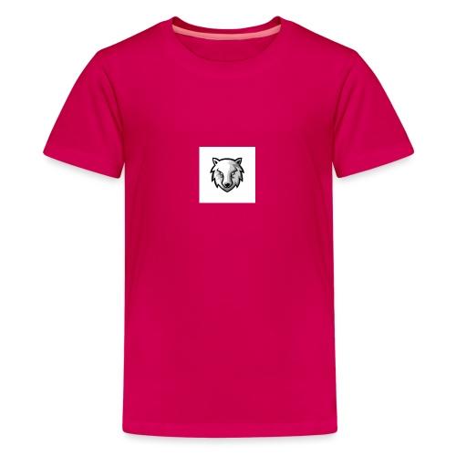 new wolf hoodie - Kids' Premium T-Shirt