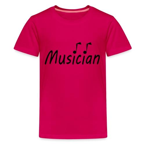 musician black - Kids' Premium T-Shirt