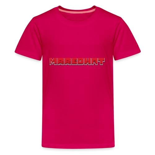 MrRedHat Plain Logo - Kids' Premium T-Shirt