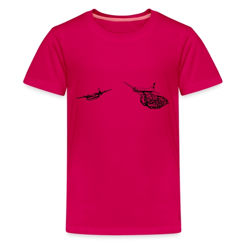 Convair 580 and Turbo Commander Bird Dog WHITE MUG - Kids' Premium T-Shirt