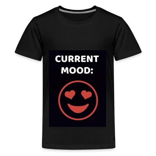 Love current mood by @lovesaccessories - Kids' Premium T-Shirt