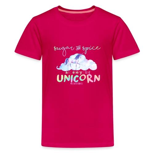 KIDS Everything Unicorn Shirt - Kids' Premium T-Shirt