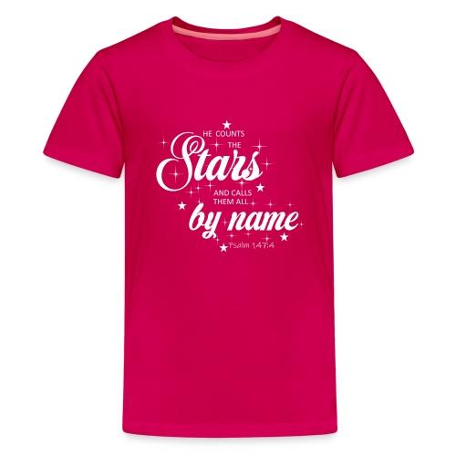 Psalm 147:4 - Kids' Premium T-Shirt