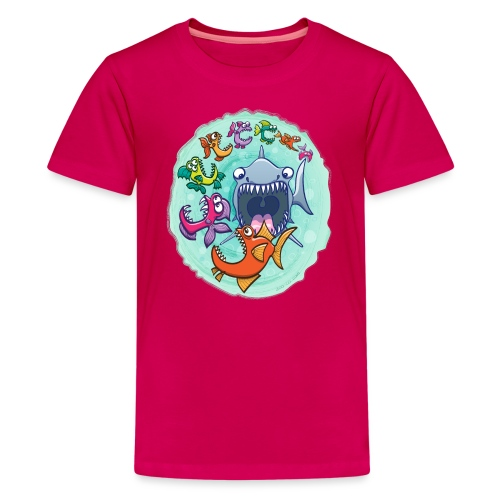 Big fish eat little fish and vice versa - Kids' Premium T-Shirt