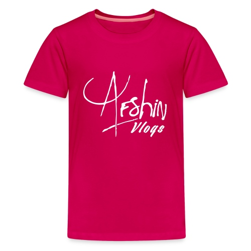 Afshin Vlogs Merchandise - Kids' Premium T-Shirt
