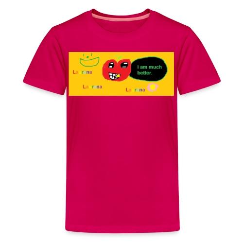 pechy vs apple - Kids' Premium T-Shirt