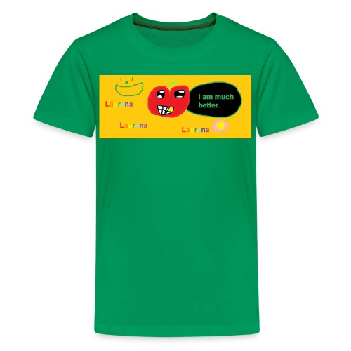 pechy vs apple - Kids' Premium T-Shirt