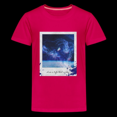 Polaroid Spaceman - Kids' Premium T-Shirt