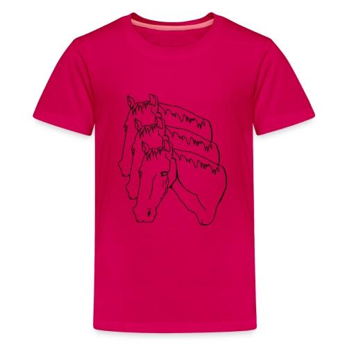 horsey pants - Kids' Premium T-Shirt