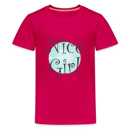 Nice Girl - Kids' Premium T-Shirt