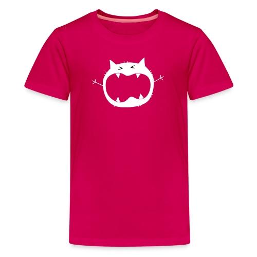 Grumo Growling 03 HD fw png - Kids' Premium T-Shirt