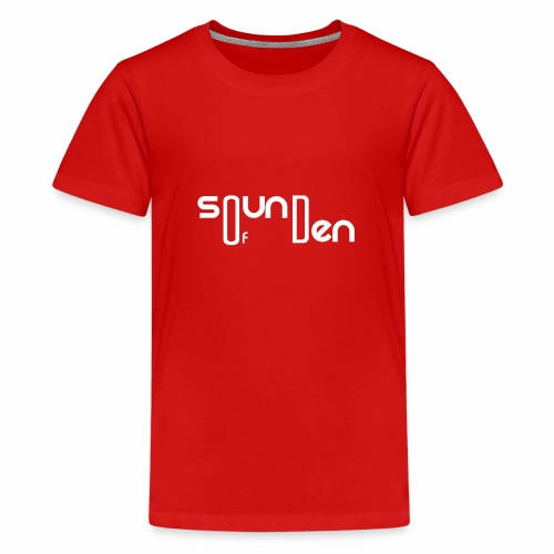 Soundofden The white classical Logo - Kids' Premium T-Shirt