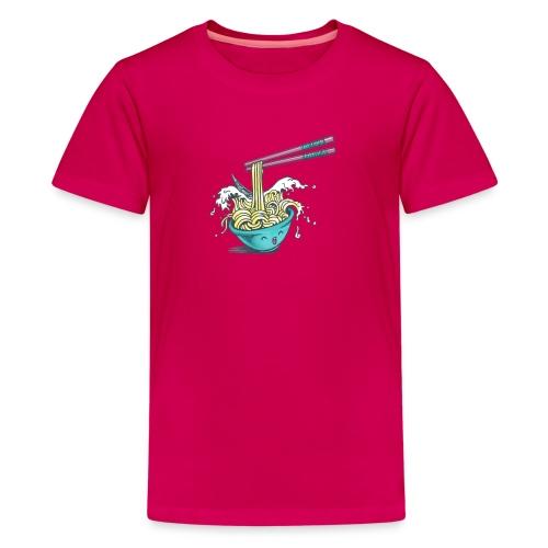 Ramen pool party - Kids' Premium T-Shirt