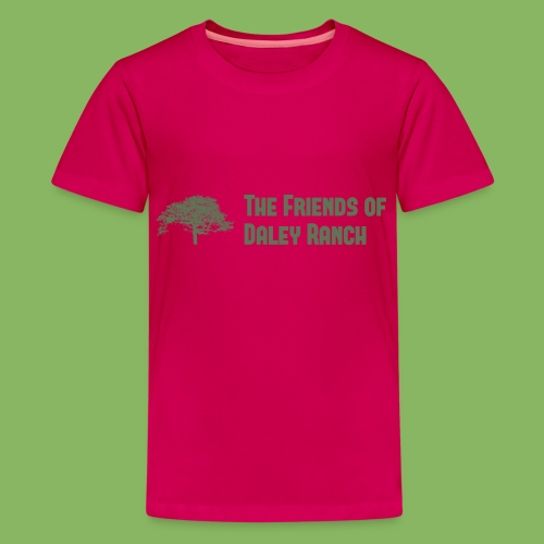FODR Logo green - Kids' Premium T-Shirt