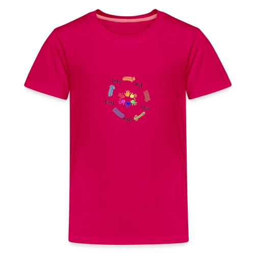 Let's Put Our Kids First - Kids' Premium T-Shirt