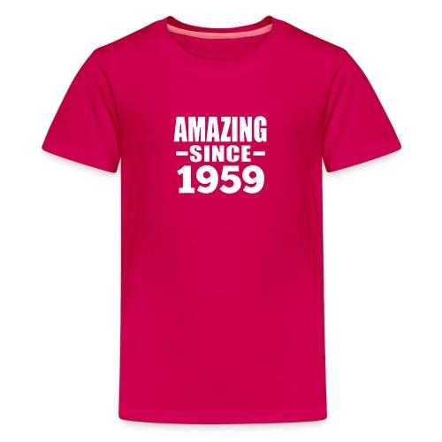 Vintage 1959 60th Birthday - Kids' Premium T-Shirt