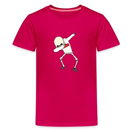 Dabbing Skeleton - Kids' Premium T-Shirt
