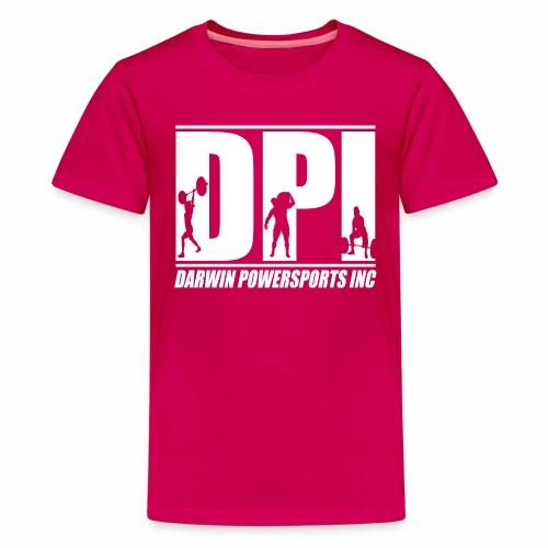 DPI Logo White - Kids' Premium T-Shirt