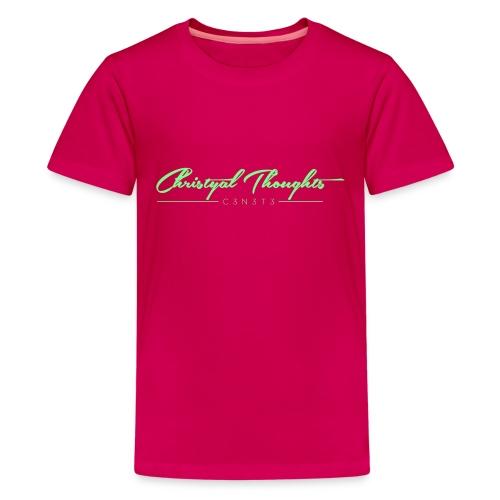 Christyal Thoughts C3N3T31 Lime png - Kids' Premium T-Shirt