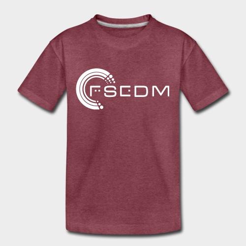 FSEDM 2015 Logo White png - Kids' Premium T-Shirt