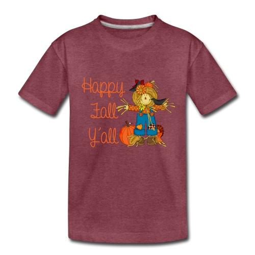 happy fall yall - Kids' Premium T-Shirt