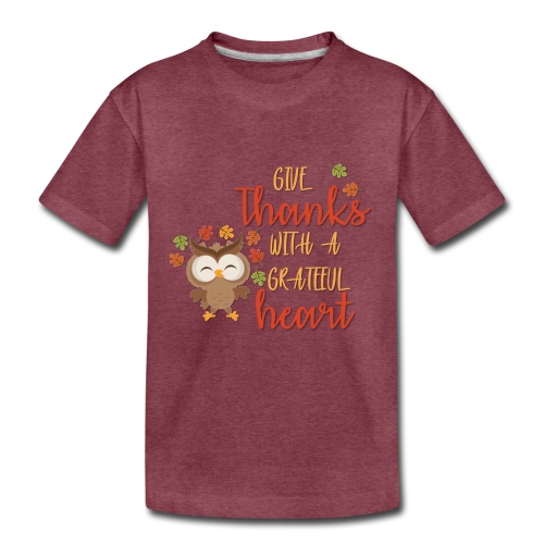 Give Thanks - Kids' Premium T-Shirt