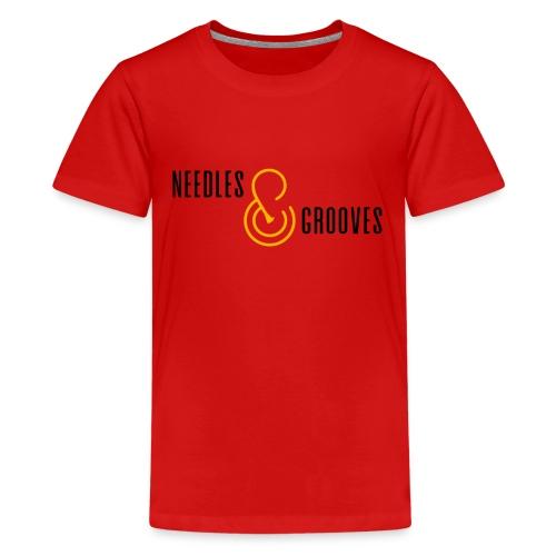 Full Logo (000000) - Kids' Premium T-Shirt