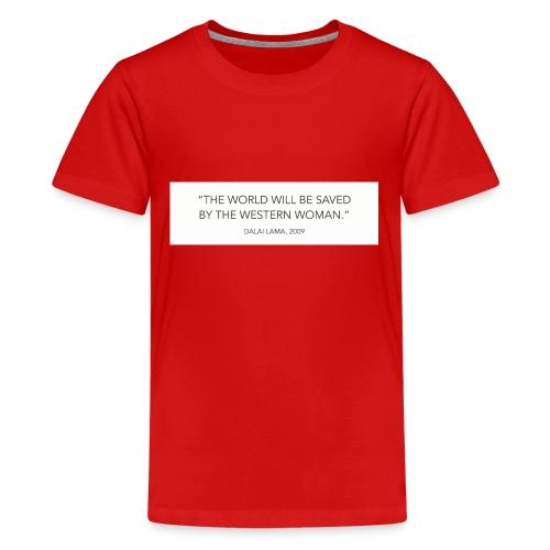 dalailamaquote - Kids' Premium T-Shirt
