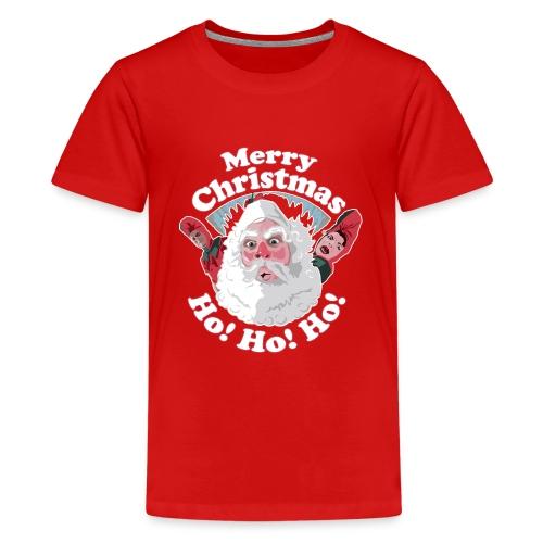 Merry Christmas...Ho! Ho! Ho! A Great Christmas - Kids' Premium T-Shirt