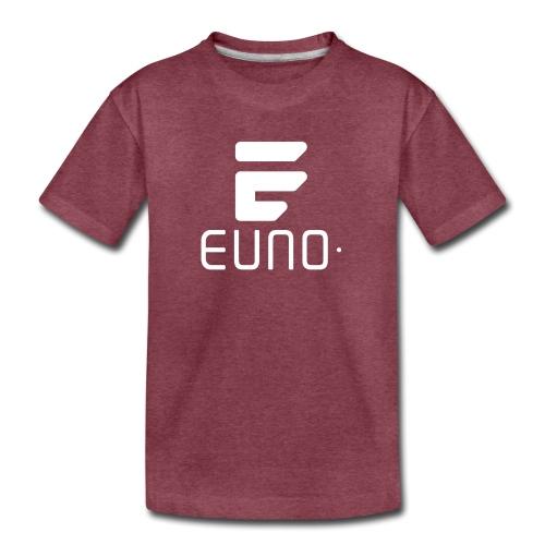 EUNO LOGO POTRAIT WHITE - Kids' Premium T-Shirt