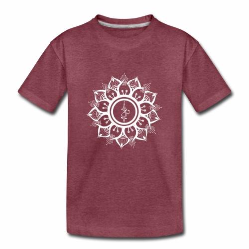 White Mandala - Kids' Premium T-Shirt