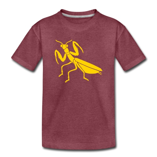 praying mantis bug insect - Kids' Premium T-Shirt