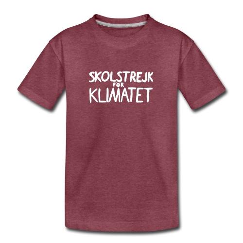 Skolstrejk foer klimatet - Kids' Premium T-Shirt