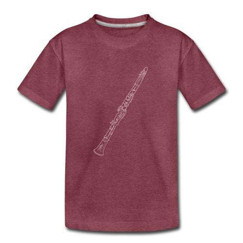 Clarinet · white rotate - Kids' Premium T-Shirt