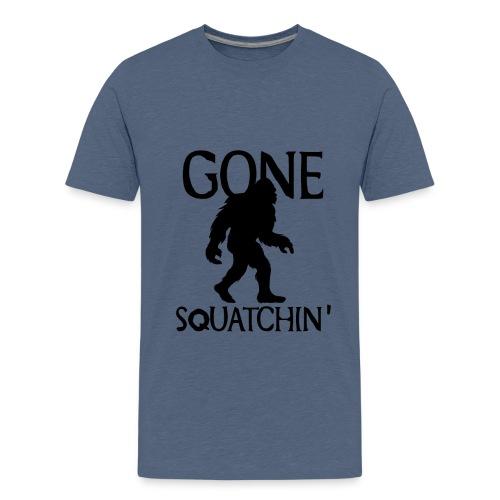 Gone Squatchin Hide and Seek Bigfoot Yeti - Kids' Premium T-Shirt