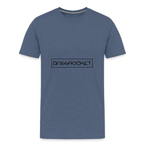 bassrocket black - Kids' Premium T-Shirt