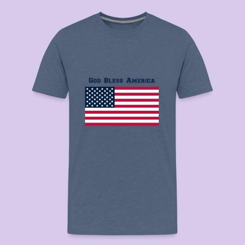 God Bless America - Kids' Premium T-Shirt