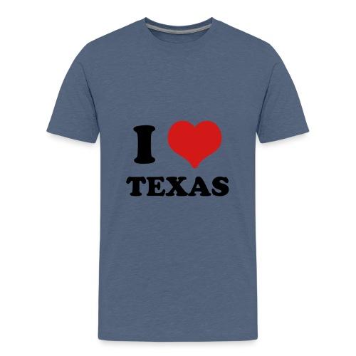 I Love Texas - Kids' Premium T-Shirt