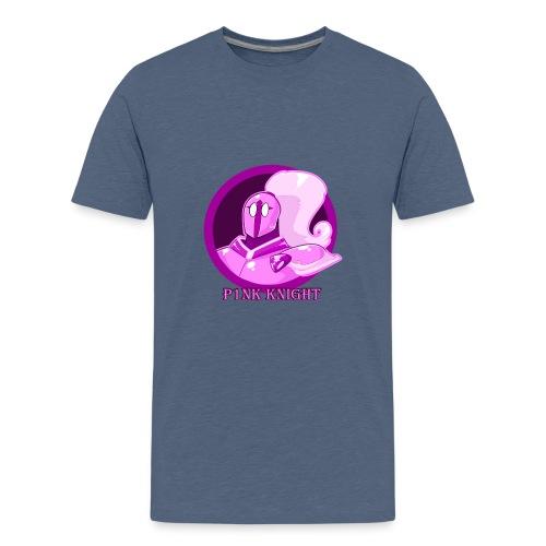 Pink Knight logoV2 - Kids' Premium T-Shirt