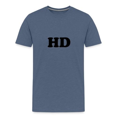 Offical hd logo merch - Kids' Premium T-Shirt