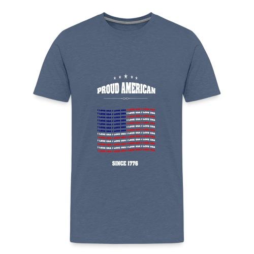 Proud american SINCE 1776 - Kids' Premium T-Shirt